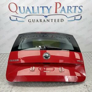 SKODA YETI 2013 2017 REAR COMPLETE BOOTLID TAILGATE IN RED