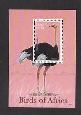 Liberia 2482 - Birds Of Africa. Souvenir Sheet Of 1. MNH. OG.   #02 LIB2482