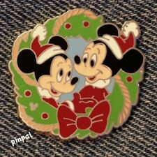 Disney Pin~DLR~2006~Holiday Wreath Hotel Lanyard~Morty and Ferdy~# 51357