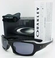 NEW Oakley Fives Squared sunglasses Polished Black Grey 9238-04 AUTHENTIC 9238
