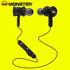 Monster Clarity HD Intraurales Bluetooth Inalámbrico Auriculares Negro