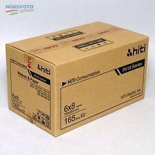 HiTi Fotopapier / Thermopapier 15x20 für HiTi P510 S/K 2x 165 Bl