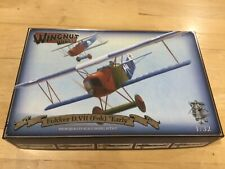 """New ListingWingnut Wings Fokker D.Vii (Fok) """"Early"""" 1:32 Scale Aircraft Plastic Model Kit ("""