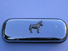 DONKEY  brand new chrome glasses case great gift!!