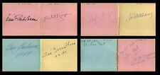 76 CLASSICAL MUSICIANS AUTOGRAPH ALBUM 1967-1972 Conductors Pianists Guitarist