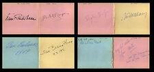 76 CLASSICAL MUSICIANS AUTOGRAPH ALBUM 1967-1972 Conductors Pianists Guitarist