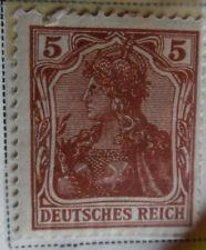 Germany 1920 Stamp 5Pf MNH Mint Stamp Rare Antique Excellent StampBook1-100-1/2