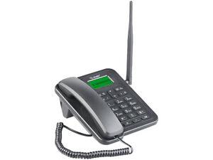 GSM-Tisch-Telefon mit SMS-Funktion und Akku, ohne Vertrags & SIM-Lock Mobiltelef