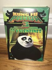 32 Count Kung Fu Panda 3 Valentines Day Cards
