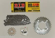 DID Heavy Duty Drive Chain & JT Sprocket Kit For Honda MSX125 Grom 2013>