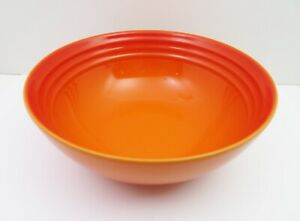 NEW LE CREUSET CEREAL BOWL, VOLCANIC STONEWARE