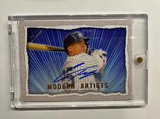 /25 Gleyber Torres Autograph Modern Artists MP-10 Topps Gallery 2020 NY Yankees