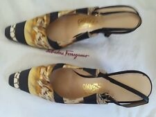 Salvatore Ferragamo animal print shoes