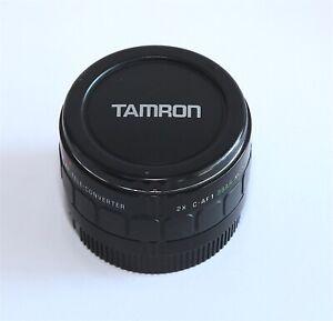 Tamron - F AF Teleconverter 2X C-AF 1 BBAR MC7
