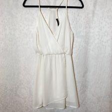 Honey Punch Mini Dress in White Ivory Size Medium