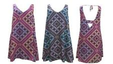 Geometric Sleeveless Boho Dresses for Women
