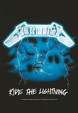 "METALLICA FLAGGE / FAHNE ""RIDE THE LIGHTNING"" POSTERFLAGGE POSTER FLAG"