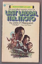 John P Marquand - Last Laugh Mr Moto - Popular Library 0-445-04078-5 1977