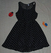 ✿❀ Robe fluide doublée à pois ✿❀ Divided by H&M ✿❀ Taille 38