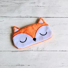 Novelty Orange Fox Travel Sleep Aid Eye Mask Blindfold