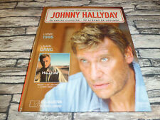 JOHNNY HALLYDAY  LA COLLECTION OFFICIELLE 1986 GANG  CD + LIVRE
