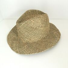 e22677e4db41f Top of the World Bunker Straw Hat Tan New
