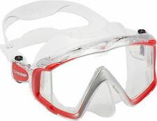New listing Cressi Perfect View Scuba Diving Snorkeling Mask Pure Silicone Liberty Triside