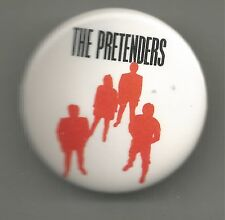 Learning To Crawl Concert Pin * by The Pretenders (1984, Pin Back)