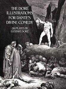 Dore's Illustrations for Dante's  Divine Comedy by Gustave Dore (Paperback 1976)