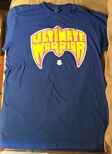 ULTIMATE WARRIOR Men's T-Shirt Large (Wrestlemania WWF WWE) Vintage Style