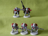 A19 WARHAMMER 40K SPACE MARINE  ARMY - SCOUT SQUAD PLASTIC MODELS