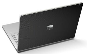 LidStyles Carbon Fiber Laptop Skin Protector Decal Microsoft Surface Book 2 13""