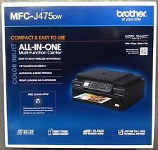 New Brother MFC-J475DW Wireless All-In-One Printer Scan Copy Fax Airprint USB