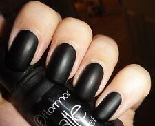 FLORMAR Matte  nail polish -  11ml - 02 Black