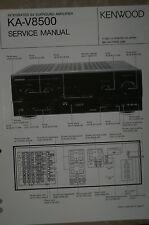 Service Manual für Kenwood KA-V8500