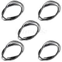 5pcs Black Pearl Guitar Bindings Purfling For Luthier Parts 1650 X 6 X 1.5mm