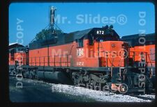 Original Slide B&LE Bessemer & Lake Erie SD38-2 872 Albion PA 1976