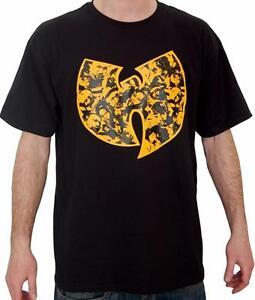Wu-Wear Faces Tee T Shirt M-3XL Wu-Tang Clan Method Man Rza Gza ODB New