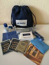 Delta Airlines Amenity Kit Business Class als Seesack