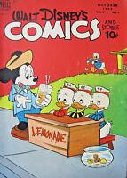 Walt Disney Comics and Stories 1948 #97 Dell Golden Age Comics VG+ 4.5 10 cent