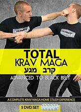 Total Krav Maga: Advanced to Black Belt 5 DVD Set (Groundfighting, Edged Weapons
