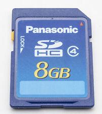 Tarjeta de memoria SanDisk SD 8gb F Panasonic Lumix dmc-fs25