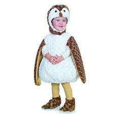 Toddler Underwraps Belly Babies White Barn Owl  Halloween Costume Size XL 4T- 6T