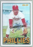 COOKIE ROJAS PHILADELPHIA PHILLIES 1967 STYLE CUSTOM MADE BASEBALL CARD BLANK