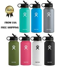 Hydro Flask Water bottle Stainless Steel , Vacuum Insulated with Straw Lid-32 oz