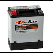Deka Powersports ETX-14 12Ah 200CCA AGM car boat marine automoitve battery