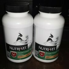Nutri Vet Grass Guard Max For Dogs 150 Chewables MFG 4/19 Lot Of 2