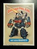 TOPPS GARBAGE PAIL KIDS  CARD 87A Hot Head Harvey 3nd Series!