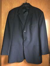 Hugo Boss Mens Suit Jacket Sports Coat Black