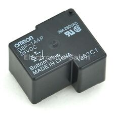 2x OMRON G8P-1A4P 24VDC Power Relay, 30A 250VAC SPST-NO, 24V Coil.